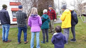 Outdoor pruning workshop
